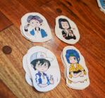 Prince of Tennis stikers by Niky-Chan