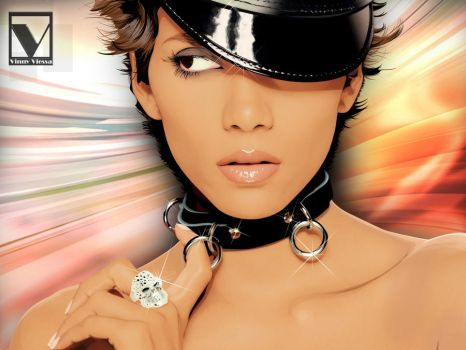 Halle Berry by vinnyvieira