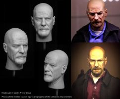 Custom Walt Headsculpt 2.0 by TrevorGrove