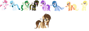 Eevee Evolution Ponymon Adopts (CLOSED) by iVuiAdopts