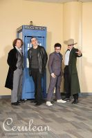 Doctor Who Photoshoot: 8-11 by StrangeStuffStudios