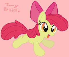 Applebloom by HeartinaThePony