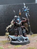 Word Bearers Sorcerer by Insuppressible
