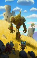 Temple Guards by bear65