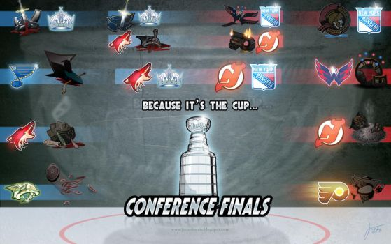 STANLEY CUP CONFERENCE FINALS by melies