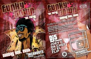 Funky Town by HENCHMENART