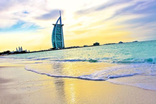 The Burj At Sunset by DrPotter