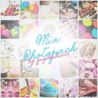 Mix Photopack by GayeBieber94