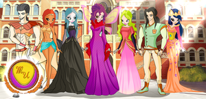 Winx: Magic University by DragonShinyFlame