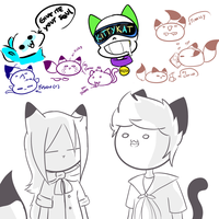 Some doodles by UniverseCipher