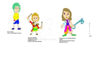 Xarti's Fan Characters Child Soldiers part 1 by Xarti