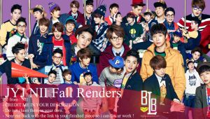 JYJ NII Fall renders by BiLyBao