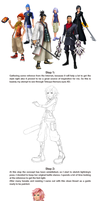 Lightning KH: Step by step by Fabulla
