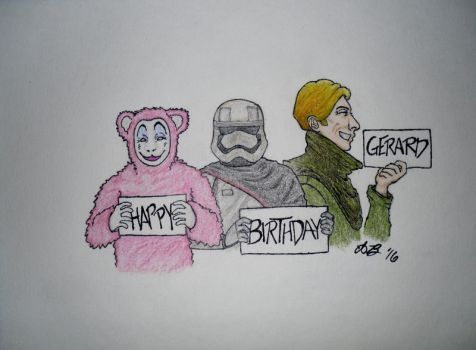 Happy Birthday, Gerard! 2016 by THEEPICARTIST8