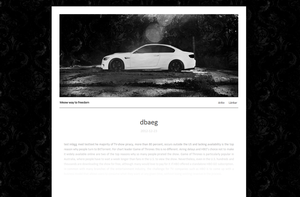 My blog design by primary-evolution