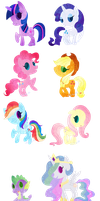 My Little Pony: FIM by LaPetitLapearl