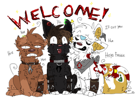 .A Family Welcome. by cho-click