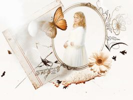 some touches of the angel in you by Super-Fan-Wallpapers