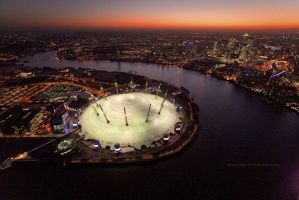 London O2 Arena by MichaelDunning
