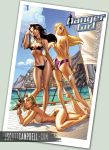 Danger Girl On a Boat by J-Scott-Campbell