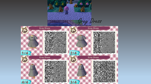 Grey Dress QR by GumballQR