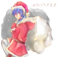 Merry Christmas Kaito- 2014 by sommerannie
