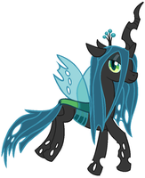 Queen Chrysalis by maverickmam