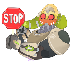 Orisa's Octagon by sshuffless