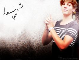 Louis Tomlinson Wallpaper by soundofcrescendo