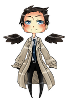 Castiel by MistTheCherry