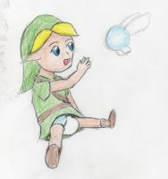Really Young Link by dipaerboy45