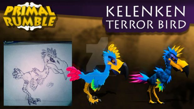 PrimalRumble - Kelenken process by PivotNazaOfficial