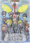 Rising Shadow Cover by GhostQueen1312