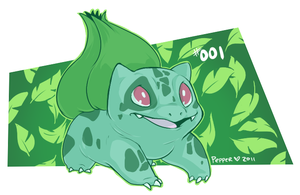 Bulbasaur by MrsDrPepper