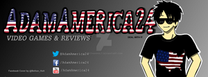 Commission: AdamAmerica24 Facebook Cover by BethanHolt