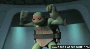 Mikey's Victory Dance GIF by artgamerforever