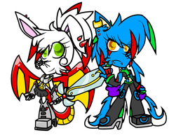 Rivita and Artimiss by 1XxAcexX1