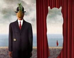 Tribute to Magritte by T-I-N-I-C-A