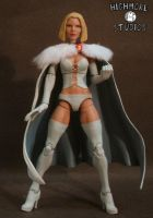 White Queen Emma Frost by Discogod