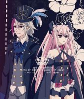 Lest Karr and Krul Tepes by S-I-M-C-A