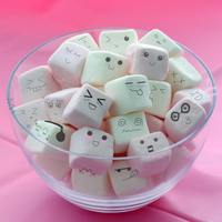 Kawaii marshmallows by zenzatsionen