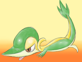 pokeddexed challenge: snivy by megadrivesonic