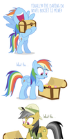 Comic Block: The Wrong Box by dm29