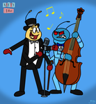 Nifty Fifties: Musical Bugs - The 1950s by BluebottleFlyer