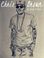 Drawing Chris Brown by MontyKVirge