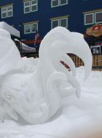 Snow Sculpture 6 by NINJAWERETIGER