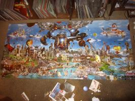 Large scale piece in progress- 6 by PancreasSupervisor