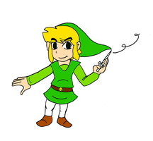 Toon Link by Aso-Designer