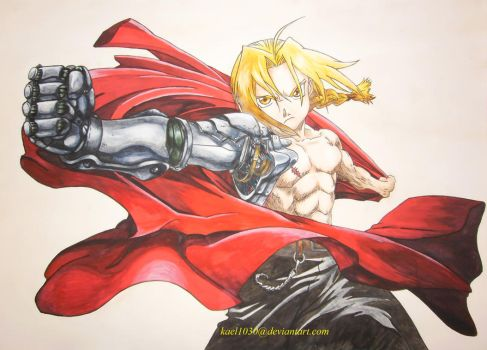 Edward Elric (reloaded) by kael1030