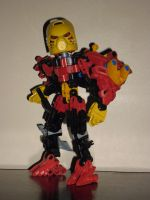 Bionicle MoC: Jaller Revamped by Zahaki